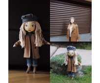 Textile gift-dolls