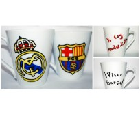 Mug on football theme